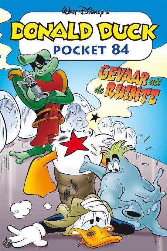 Donald Duck pocket 084 gevaar uit de ruimte - Walt Disney Studio's |