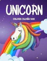 Unicorn Children Coloring Book