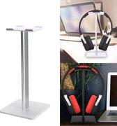 Koptelefoon Houder - Staande Headset Houder - Hoofdtelefoon Stand / Standaard - Wit