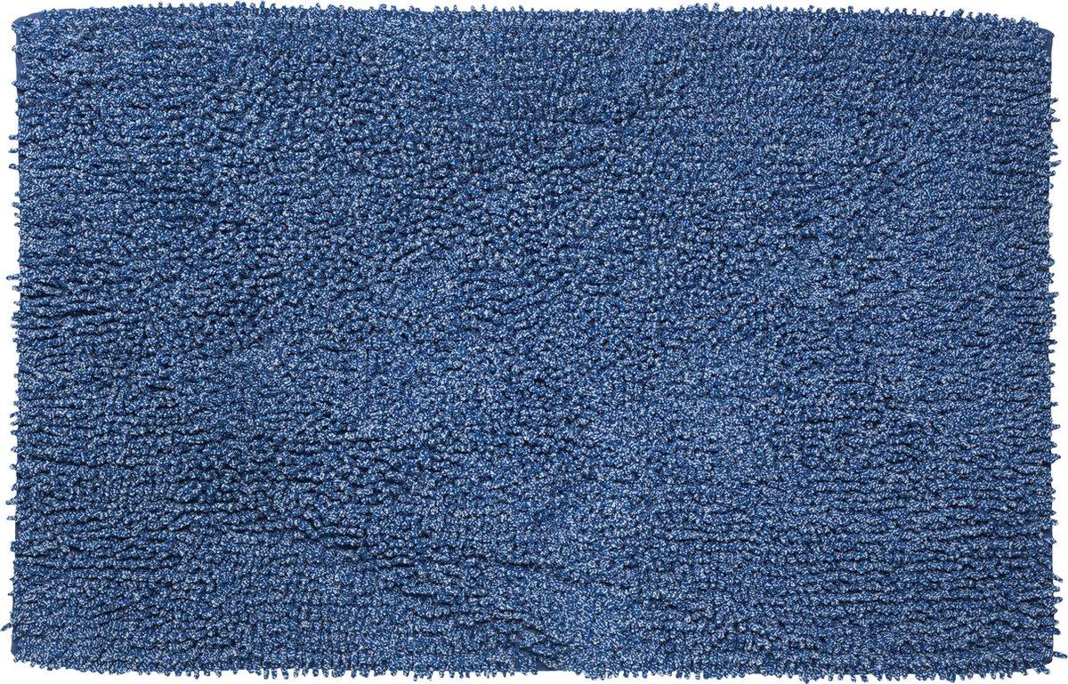 Sealskin Misto Badmat 60x90 cm - Katoen - Blauw - Sealskin