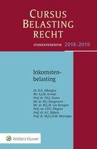 Boek cover Cursus Belastingrecht Inkomstenbelasting 2018-2019 van D.A. Albregtse (Paperback)