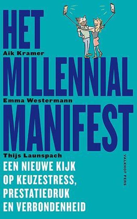 Boek cover Het Millennial Manifest van Aik Kramer (Paperback)