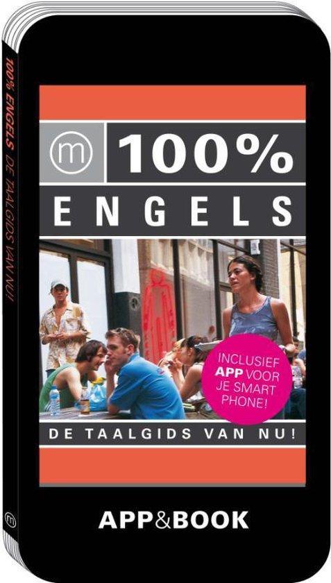 Cover van het boek '100% Engels' van  Nvt