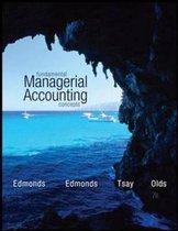 Boek cover Fundamental Managerial Accounting Concepts (Intl Ed) van Thomas P. Edmonds (Paperback)