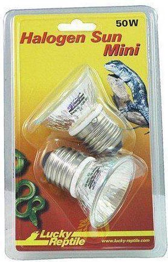 Lucky Reptile Halogen Sun Mini - 50W - Double Pack