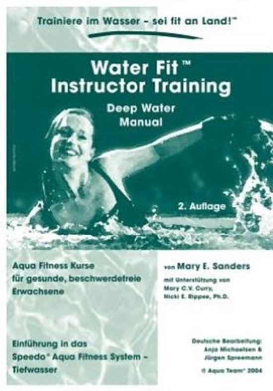 Water Fit Instructor Training - Deep Water Manual