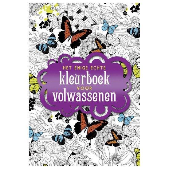 Boek cover Het enige echte kleurboek voor volwassenen van Diverse auteurs (Paperback)