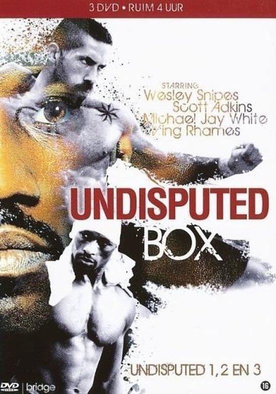 Cover van de film 'Undisputed 1-2-3 Box'