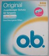 O.b Original Normal Tampons - 56 stuks