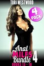 Anal MILFs Bundle 4 : 4-Pack : Books 13 - 16 (Anal Sex Erotica MILF Erotica Virgin Erotica First Time Erotica First Time Anal Virgin Erotica Age Gap Erotica)
