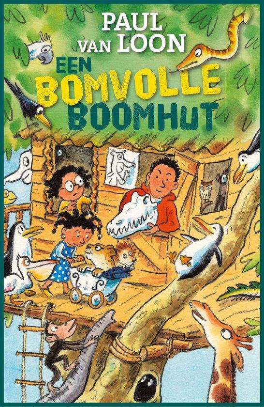Boek cover Een bomvolle boomhut van Paul van Loon (Onbekend)