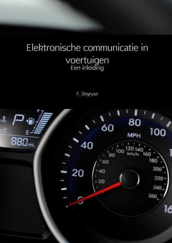 Elektronische communicatie in voertuigen - F. Degryse  