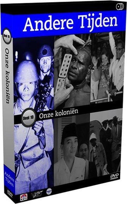 Cover van de film 'Andere Tijden - Deel 10: Onze Koloniën'