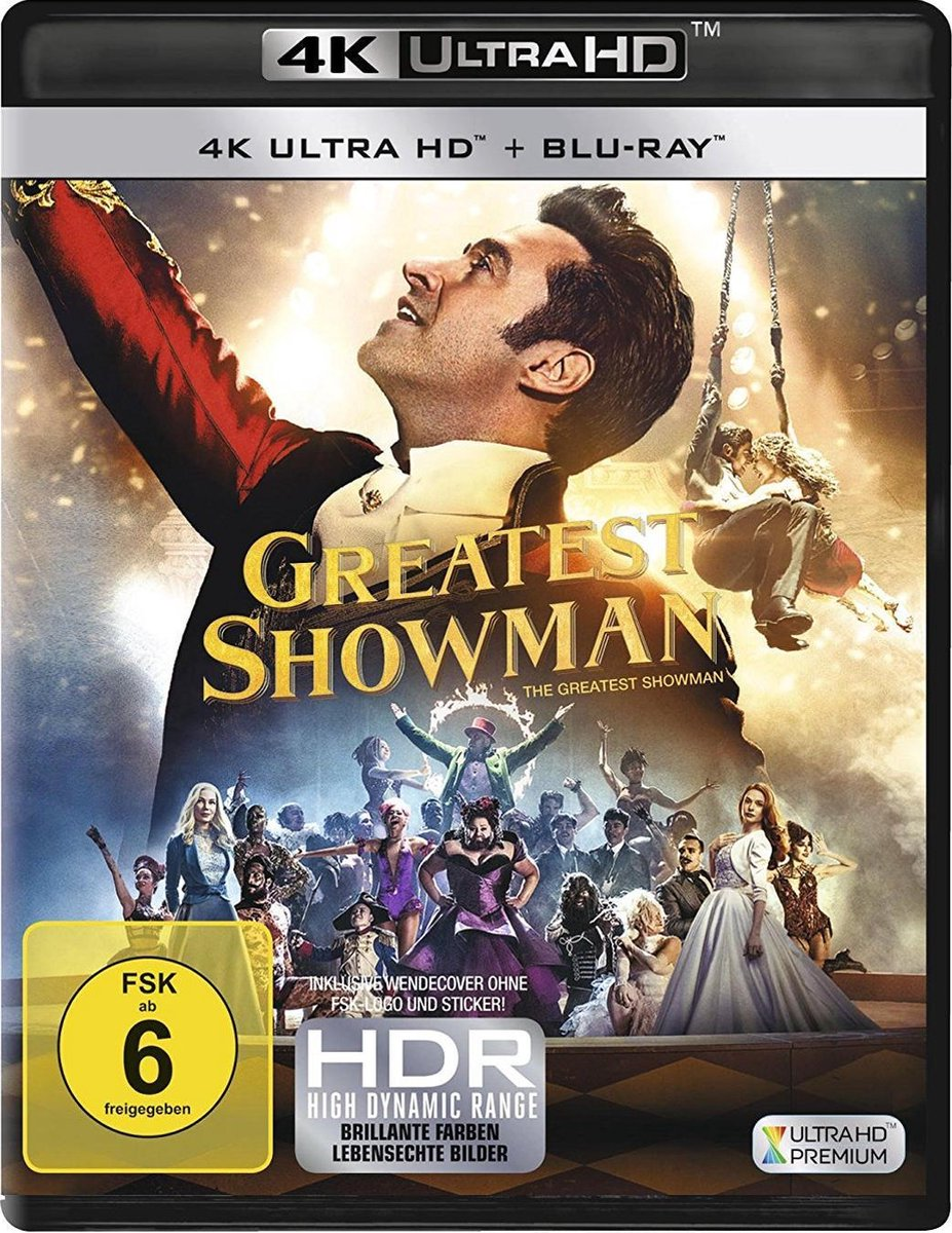 The Greatest Showman (Ultra HD Blu-ray & Blu-ray)-