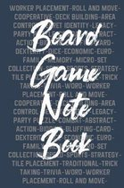 Board Game Notebook