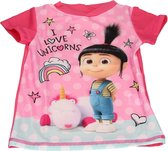 Despicable Me Minions Meisjes UV T-shirt – Maat 104/110 – Roze – UPF 40+   Kleding met Zonbeschermende Stof   Kindershirts met Zonnebescherming   UV-werende Kleren