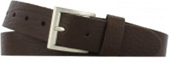 Leren riem bruin 3,5 cm breed maat 95
