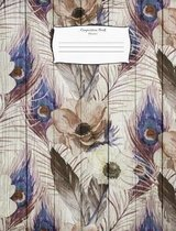 Composition Book Flowers3