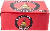 Houtskool Tabletten Golden Temple (3,3 cm)