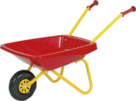 Rolly Toys Metalen/Kunststof Kruiwagen - Rood - Rolly Toys