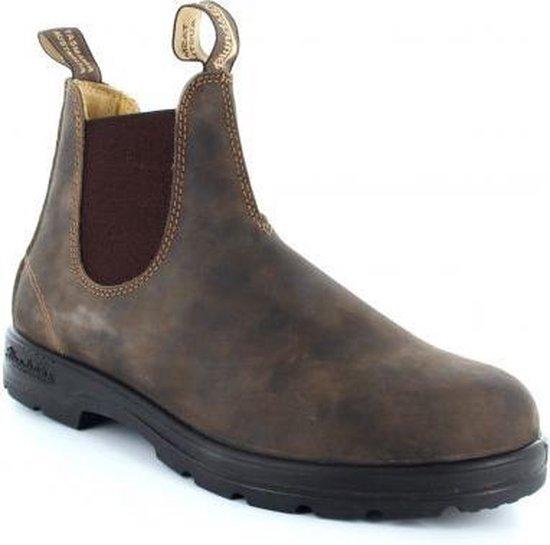 Mannen Laarzen  - Bruin - Maat 45