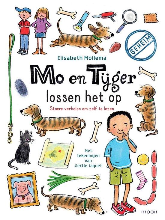 Boek cover Mo en Tijger 1 - Mo en Tijger lossen het op van Elisabeth Mollema (Onbekend)