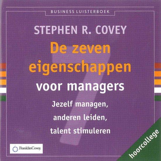 De zeven eigenschappen voor managers - Stephen R. Covey | Fthsonline.com