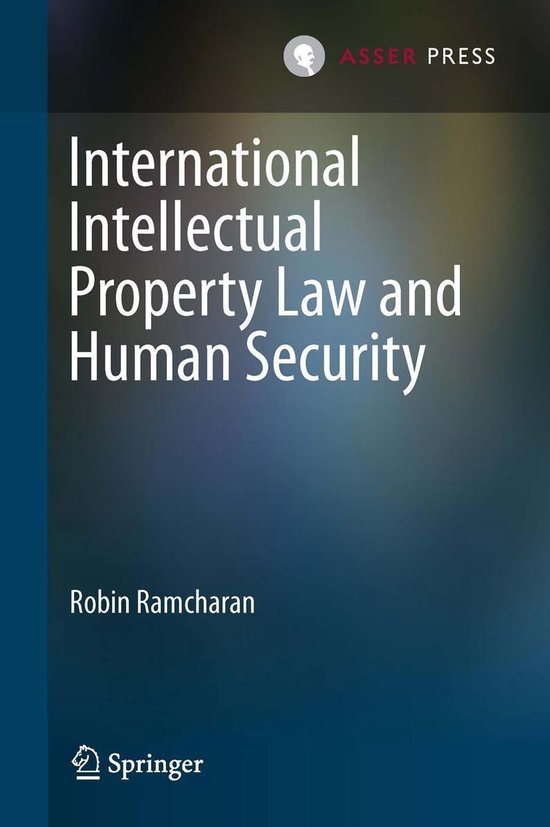 Omslag van International Intellectual Property Law and Human Security