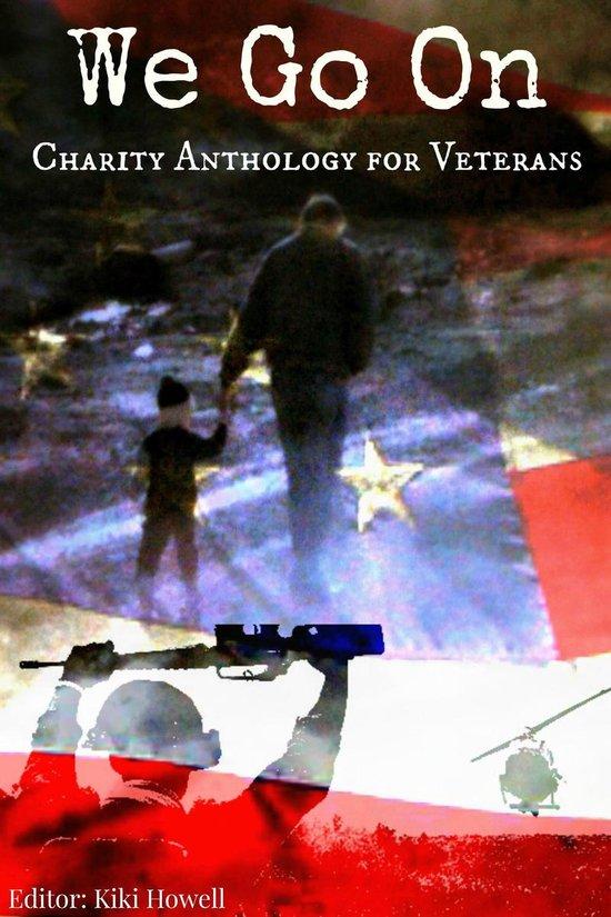 Omslag van We Go On: Charity Anthology for Veterans