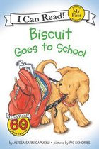 Boek cover Biscuit Goes to School van Alyssa Satin Capucilli