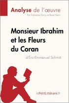 Boek cover Monsieur Ibrahim et les Fleurs du Coran dÉric-Emmanuel Schmitt (Analyse de loeuvre) van Fabienne Durcy (Onbekend)
