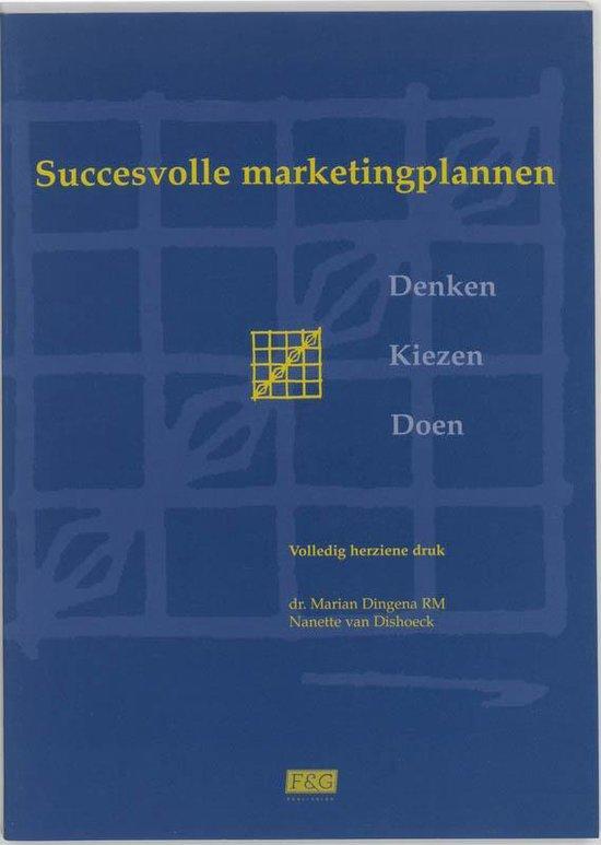 Succesvolle marketingplannen - M. Dingema  