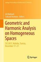 Geometric and Harmonic Analysis on Homogeneous Spaces