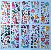 Super leuke 10 vellen stickers - Hoge kwaliteit kinderstickers - Meisjes stickers - Accessoires Kleding Barby Vrouwen