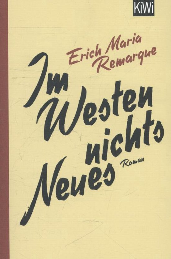 Im Westen nichts Neues