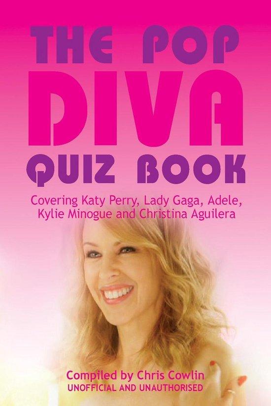 Boek cover The Pop Diva Quiz Book van Chris Cowlin (Onbekend)