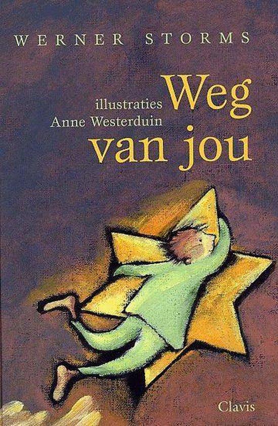 Cover van het boek 'Weg van jou'