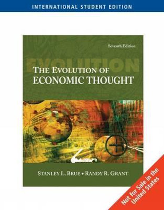 Boek cover The Evolution of Economic Thought van Randy R. Grant (Paperback)