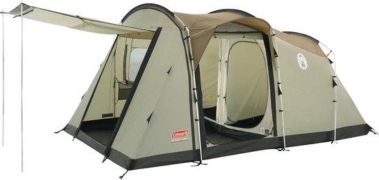 Coleman MacKenzie Cabin 6 Tent open | Kamperen met de tent