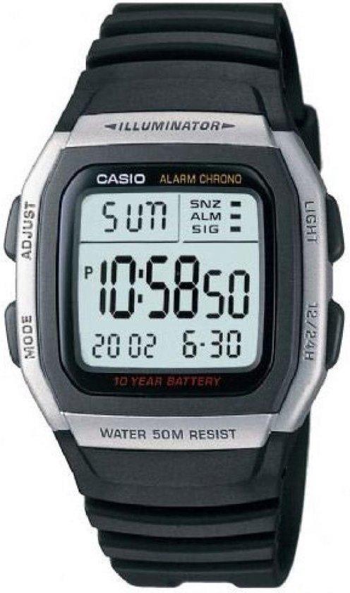 Casio Mod. W-96H-1AVES – Horloge met multifunctie