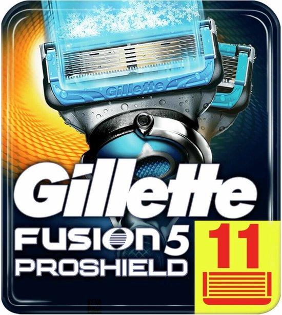 Gillette Fusion 5 Proshield Chill Scheermesjes Mannen - 11 stuks