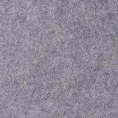 Glim® Vilt op rol  3mm - Vilt vellen - Hobbyvilt - Tassenvilt - per meter - Hobby vilt- 90x100cm - Grijs