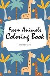 Farm Animals Coloring Book for Children (6x9 Coloring Book / Activity Book)