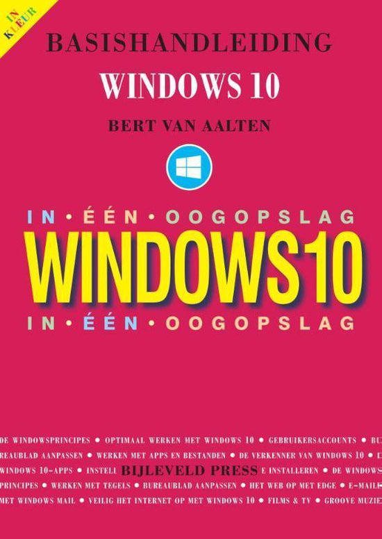 Basishandleiding Windows 10 in één oogopslag