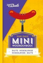 Boek cover Van Dale Miniwoordenboek Duits van