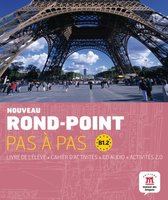 Nouveau Rond-point pas à pas B1.2 livre de l'élève + cahier d'activités + CD
