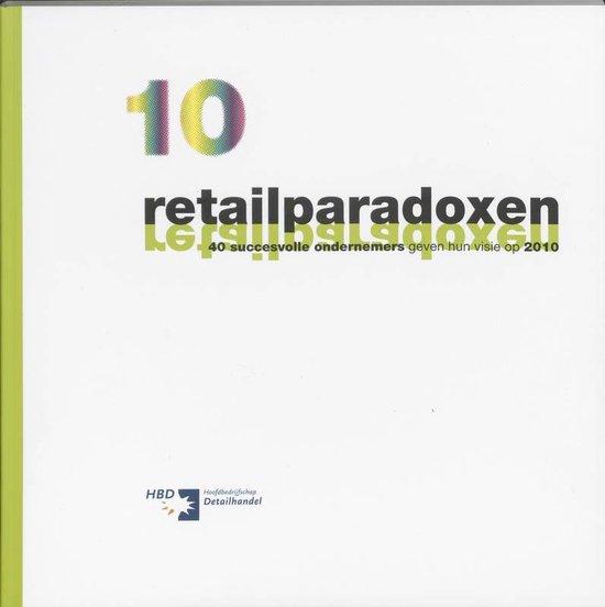 Cover van het boek '10 retailparadoxen' van M. Hemmer en F. Quix