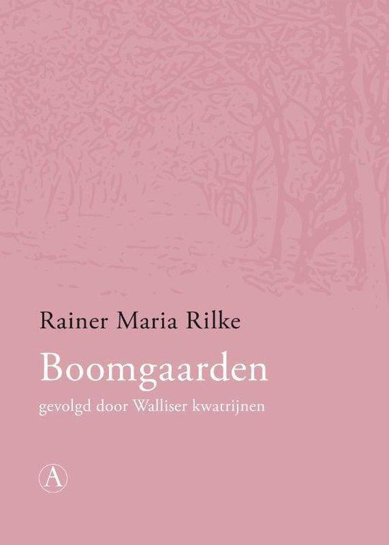 Boek cover Boomgaarden van Rainer Maria Rilke (Paperback)