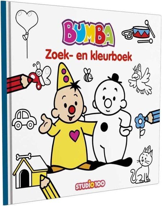 Boek cover Studio 100 Bumba: Zoek-en Kleurboek Junior 31 Cm Karton van  (Hardcover)