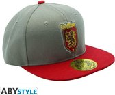 ABYSTYLE Grey & Red Gryffindor Snapback Cap Harry potter